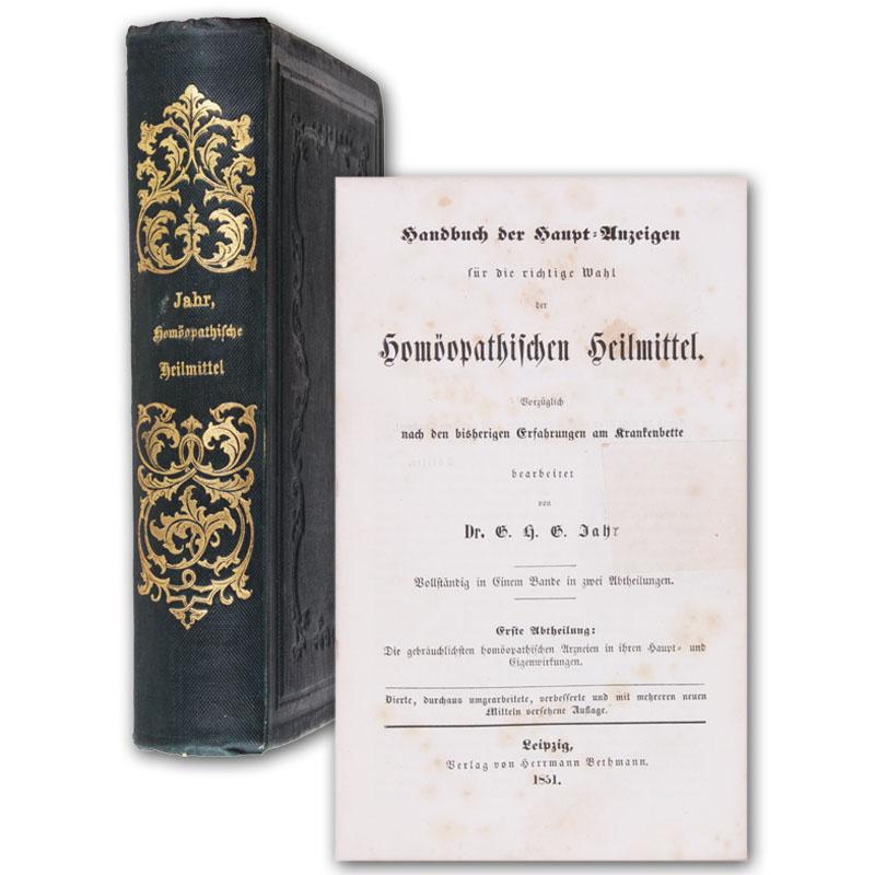 Handbuch der Haupt-Anzeigen für die richtige Wahl: Jahr, G(eorg) H(einrich)