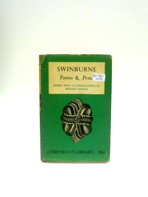 Poems and Prose: Algernon Charles Swinburne