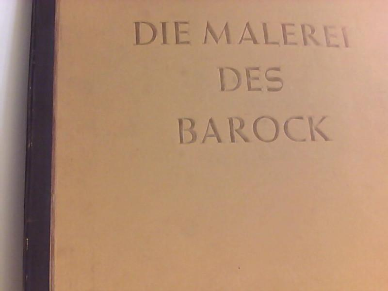 Die Malerei des Barock: Cigaretten- Bilderdienst (,