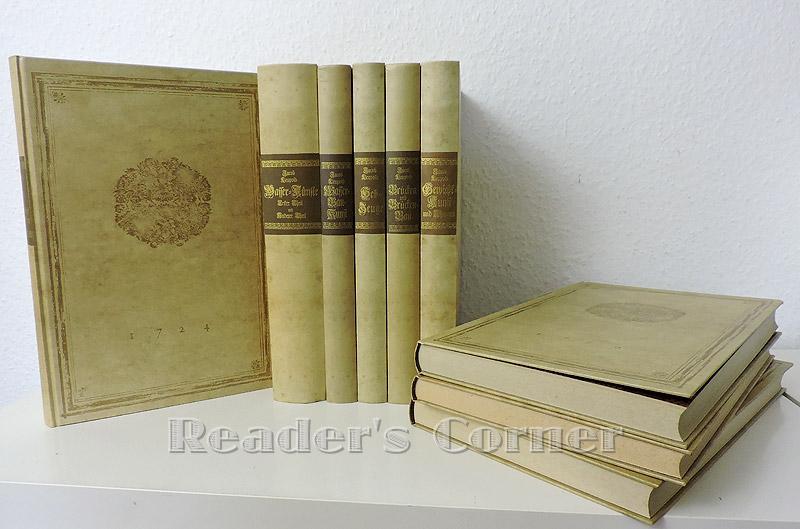 Theatrum machinarum, 10 in 9 Bänden: Theatrum: Leupold, Jacob: