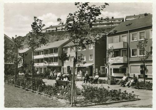 Ansichtskarte: Helgoland - Anlagen an der Siemensstrasse.: Helgoland: