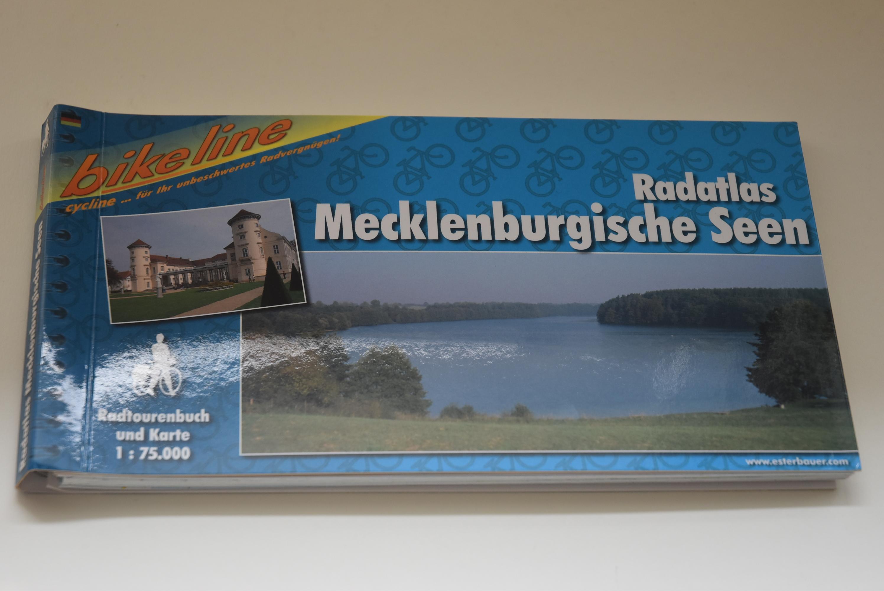 Radatlas Mecklenburgische Seen : ein original Bikeline-Radtourenbuch ; [Radtourenbuch und Karte 1:75000]. Bikeline - Esterbauer Verlag