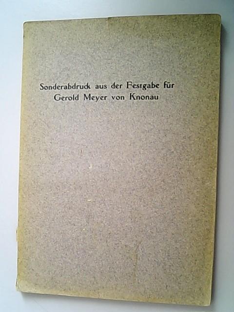 Ein Fund von rätischen Privaturkunden aus karolingischer: Durrer, Robert,