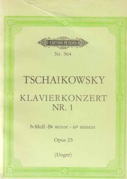 Tschaikowsky. Klavierkonzert Nr. 1. b-moll. Op. 23.: Tschaikowski, Peter: