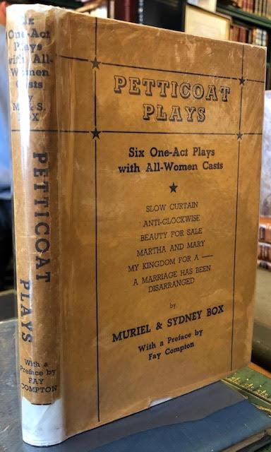 Petticoat Plays, Six One Act Plays with: Box, Sydney &