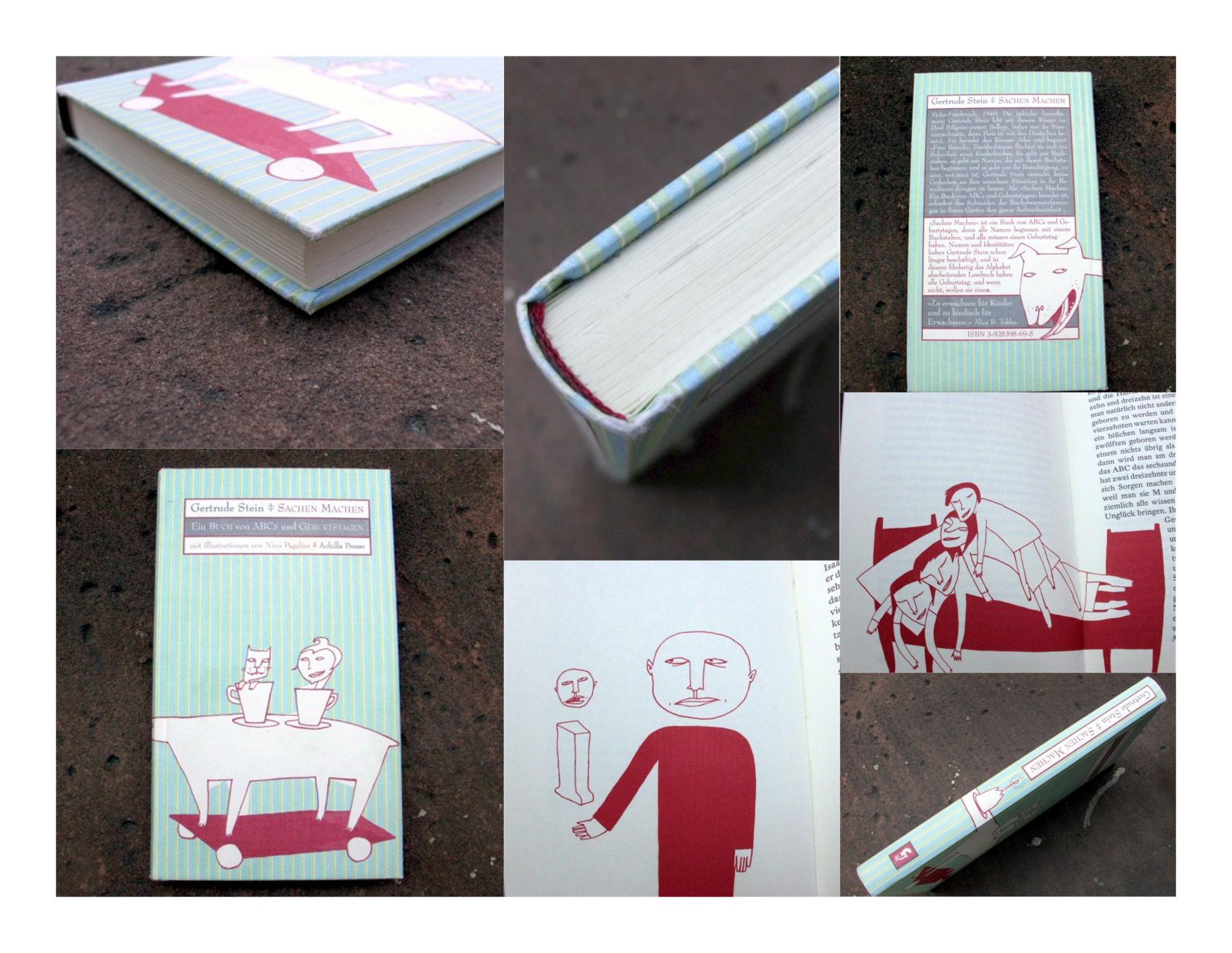 Sachen Machen. Ein Buch von ABCs und Geburtstagen.