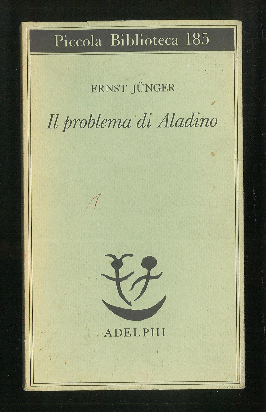 Il problema di Aladino: Junger Ernst