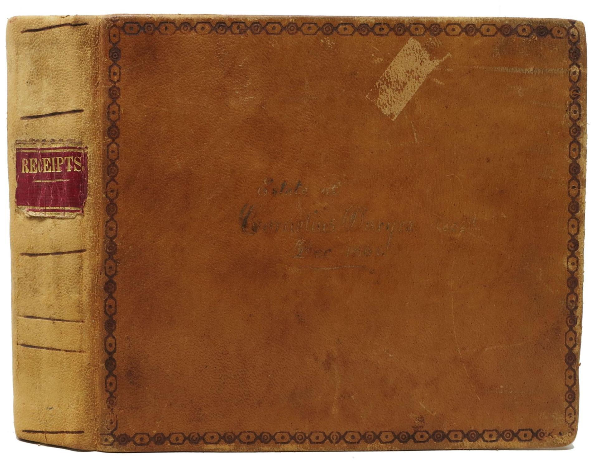 RECEIPTS FOR ESTATE OF CORNELIUS DURYEA: Kissam Family -