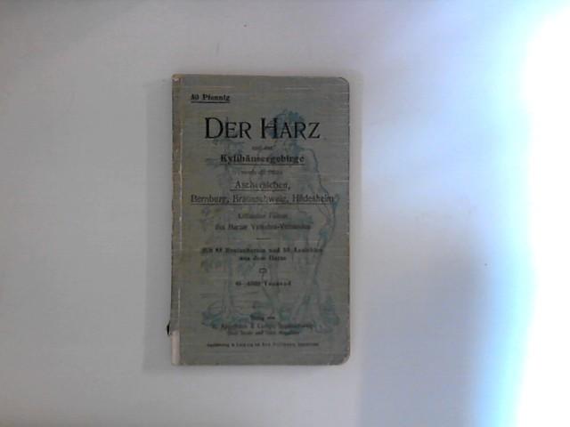 Der Harz und das Kyffhäusergebirge sowie die: ohne, Autorenangabe)::