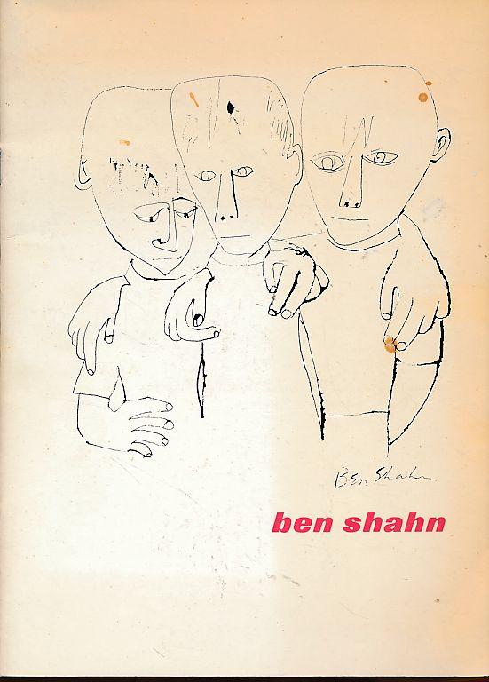 Ben Shahn. 22 dec. '61- 22.jan. '62.: Shahn, Ben: