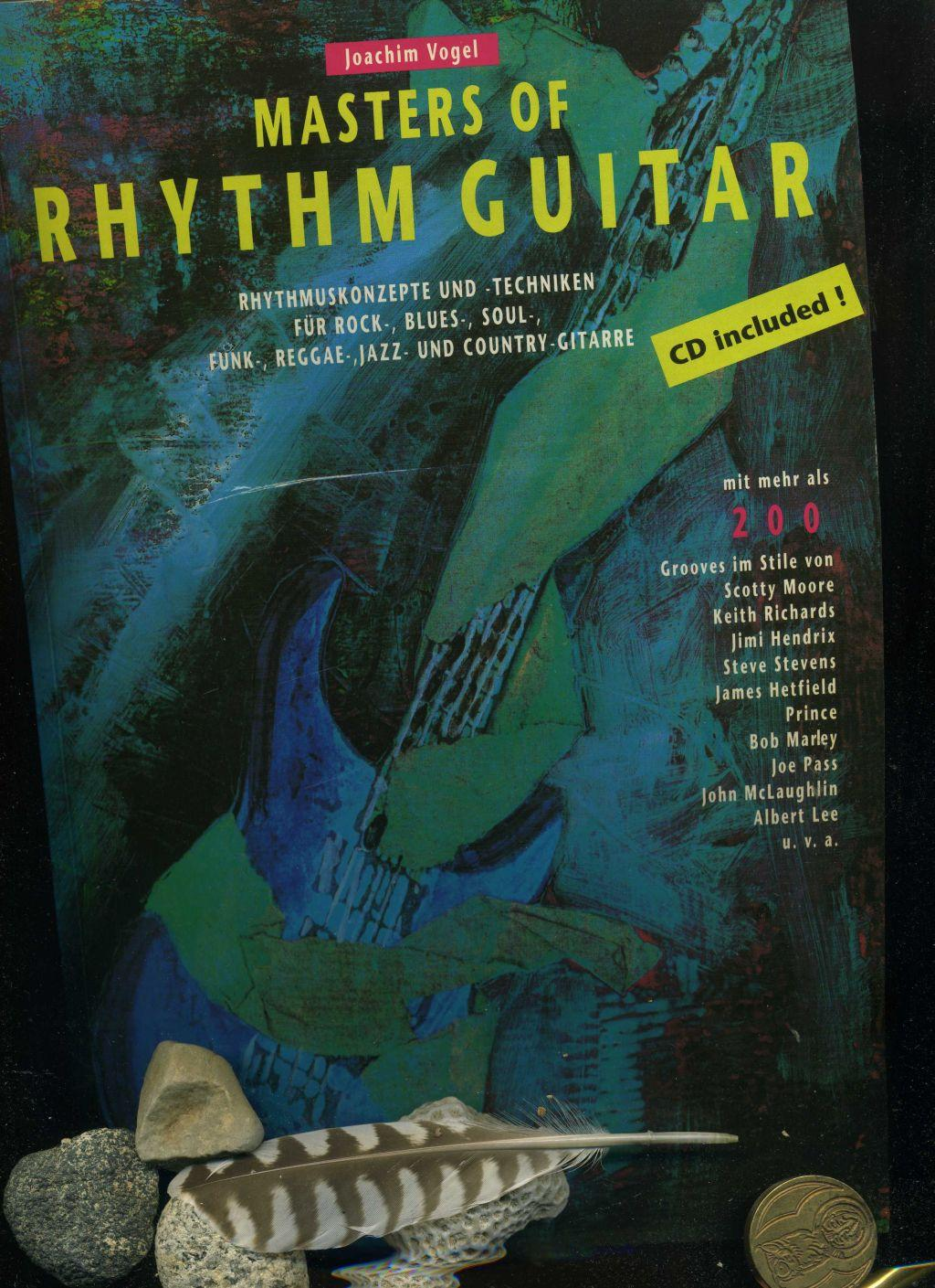 Masters of Rhythm Guitar: Rhythmuskonzepte und -Techniken: Joachim Vogel: