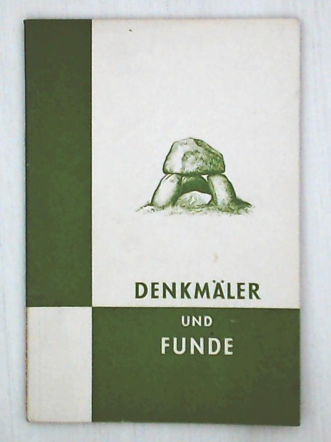 Vorgeschichtliche Denkmäler und Funde in Schleswig-Holstein, Richtlinien: Hans Hingst