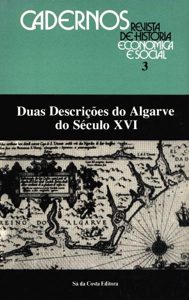 DUAS DESCRIÇÕES DO ALGARVE DO SÉCULO XVI.: VIEGAS GUERREIRO. (Manuel)