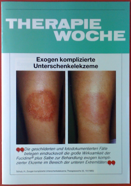 Therapiewoche - Exogene komplizierte Unterschenkelekzeme. Sonderdruck. Heft: H. Schulz
