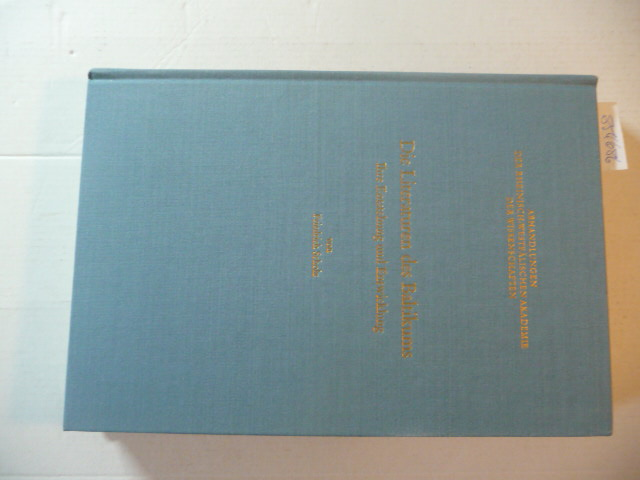 Die Literaturen des Baltikums : ihre Entstehung: Scholz, Friedrich