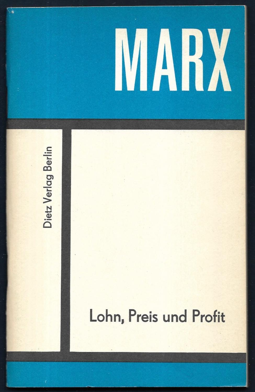 2 Bücher aus der Reihe 'Kleine Bücherei: MARX, Karl: