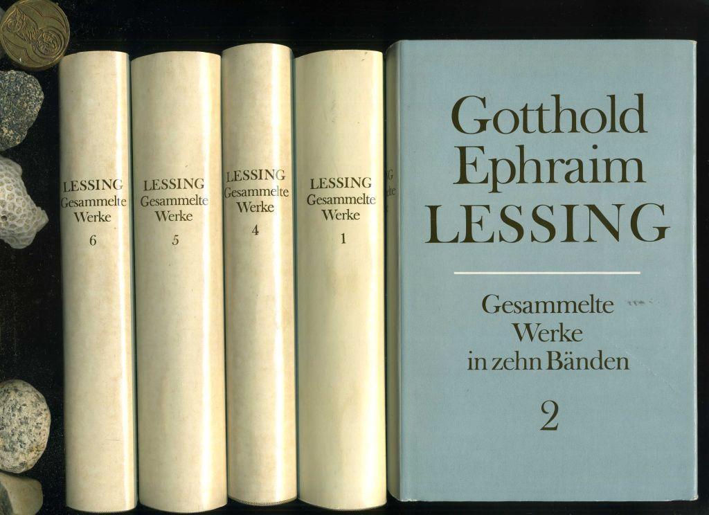 Lessings Gesammelte Werke in 10 Bänden. Alles: Lessing, Gottfried Ephraim