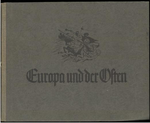 Europa und der Osten.: Sagemeyer, Hans (Hrsg.),