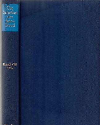 Die Schriften der Anna Freud; Bd. 8. (1965), Wege und Irrwege in der Kinderentwicklung. - Freud, Anna