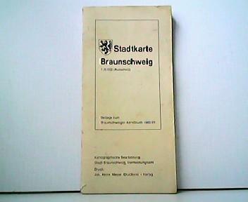 Stadtkarte Braunschweig 1 : 20 000 (Ausschnitt).: Stadt Braunschweig, Vermessungsasmt: