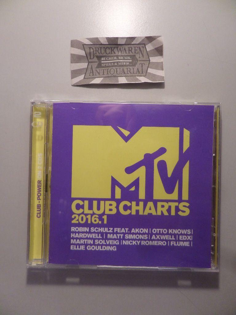 MTV Club Charts 2016.1 [2 Audio CDs].: Various Artist: