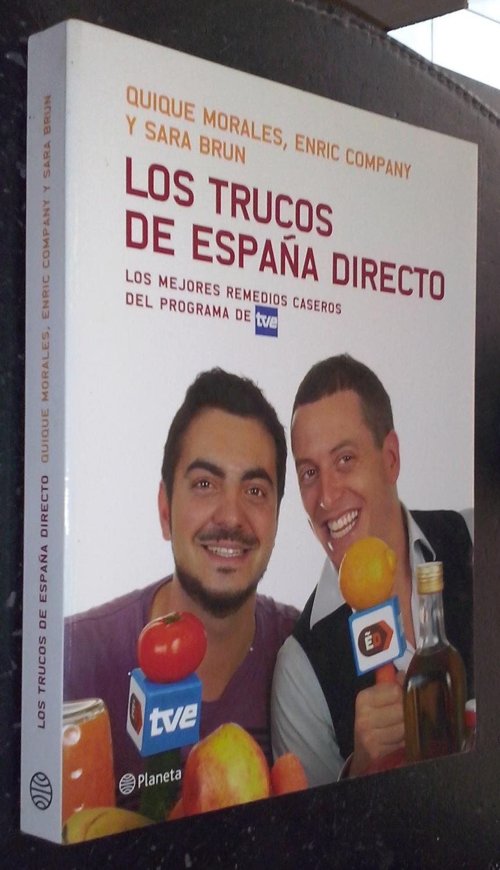 Los Trucos De España Directo Los Mejores Remedios Caseros Del Programa De Tve De Morales Quique Company Enric Y Brun Sara Librería La Candela