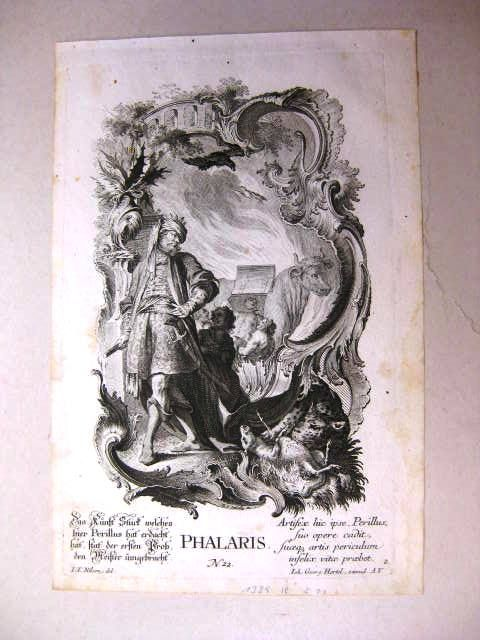 Phalaris.: Hertel, Johann Georg