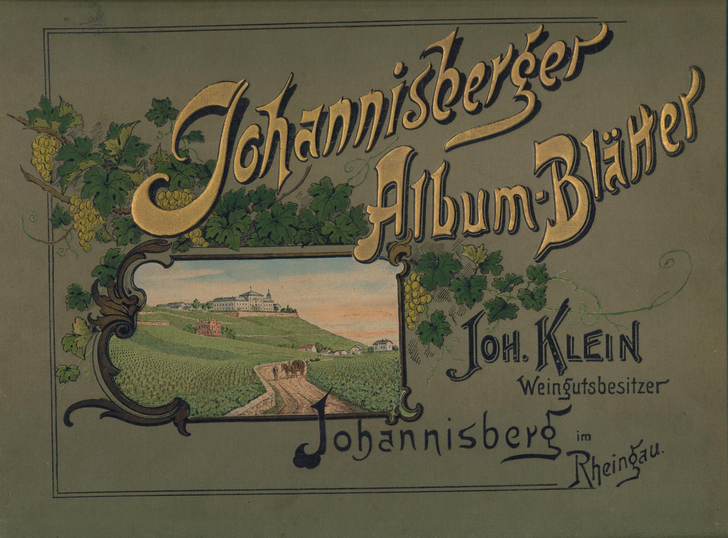 Johannisberger Album Blätter.: Klein, Johann.: