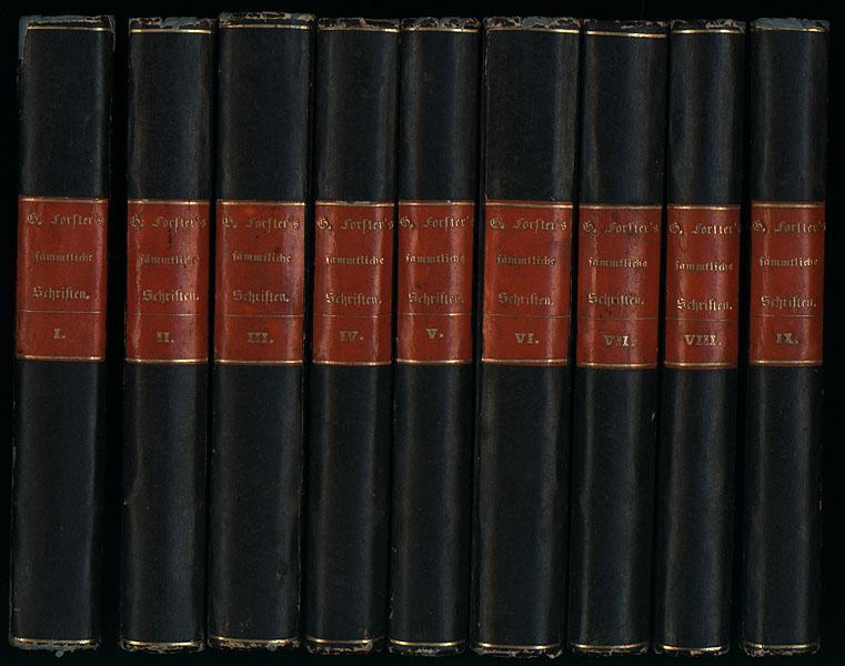 Georg Forster's sämmtliche Schriften. Herausgegeben von dessen: Forster, Georg -