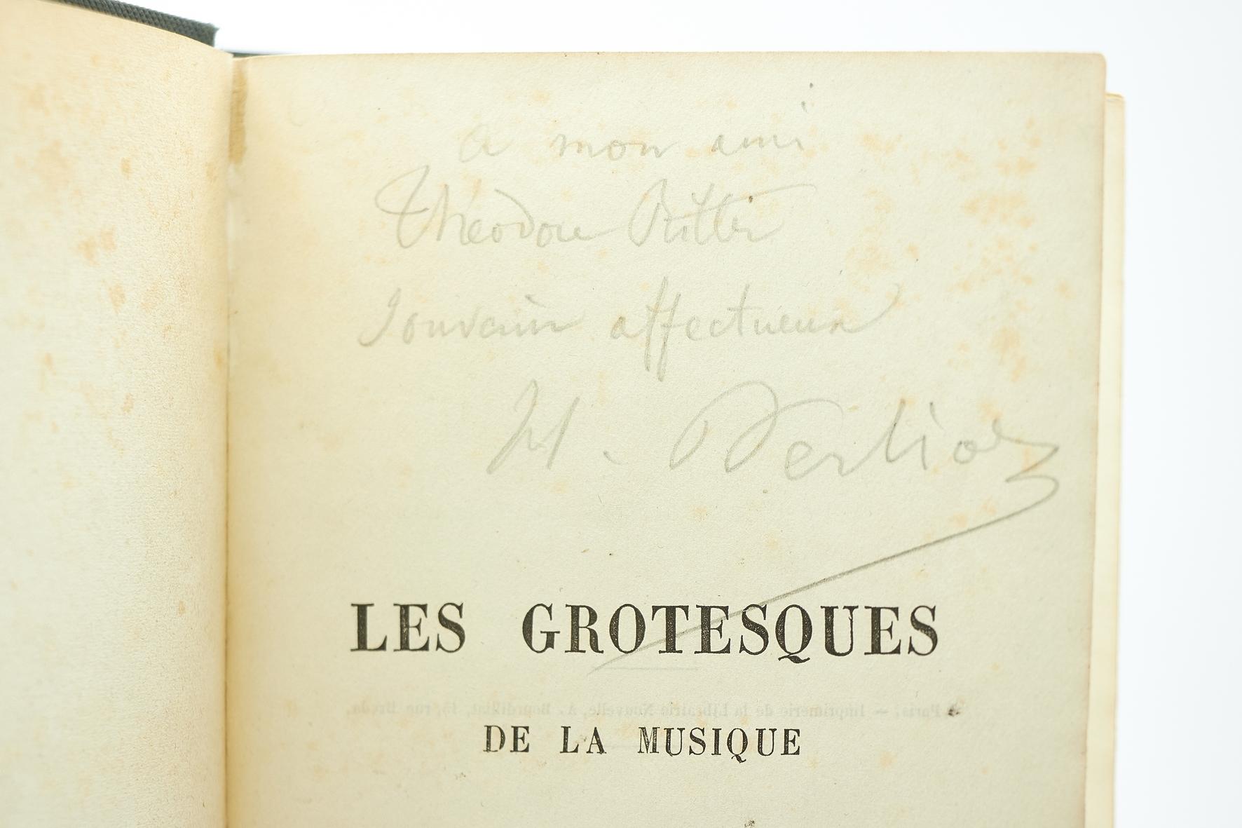 Les grotesques de la musique (Éd.1859) - Hector Berlioz