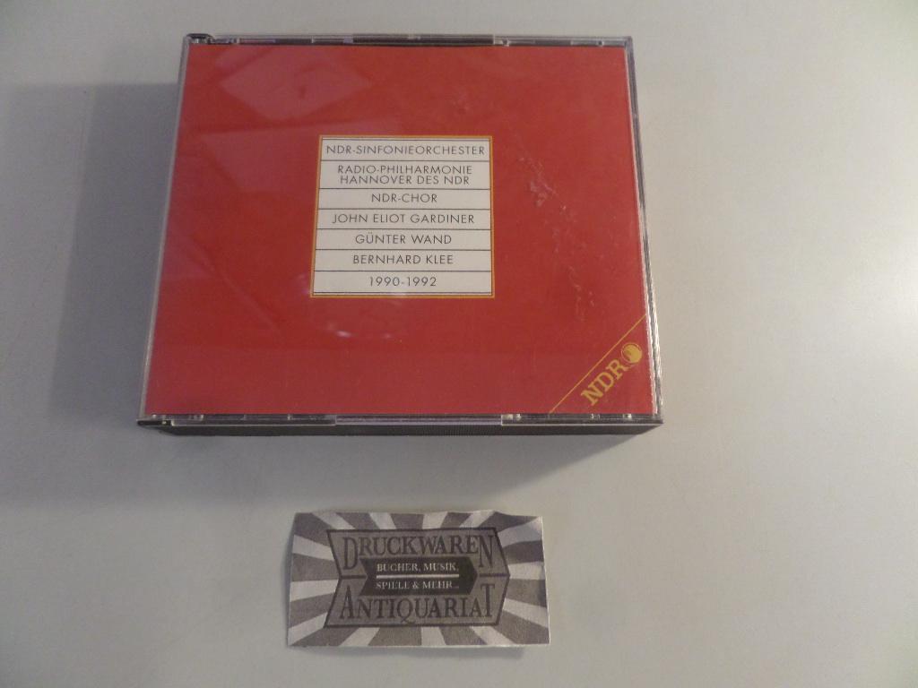 1990-1992 [3 Audio CDs].: NDR-Sinfonieorchester, Radio-Philharmonie Hannover