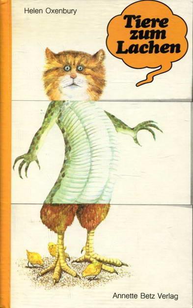 Tiere zum Lachen. Ein Verwandlungsbilderbuch - Oxenburg, Helen