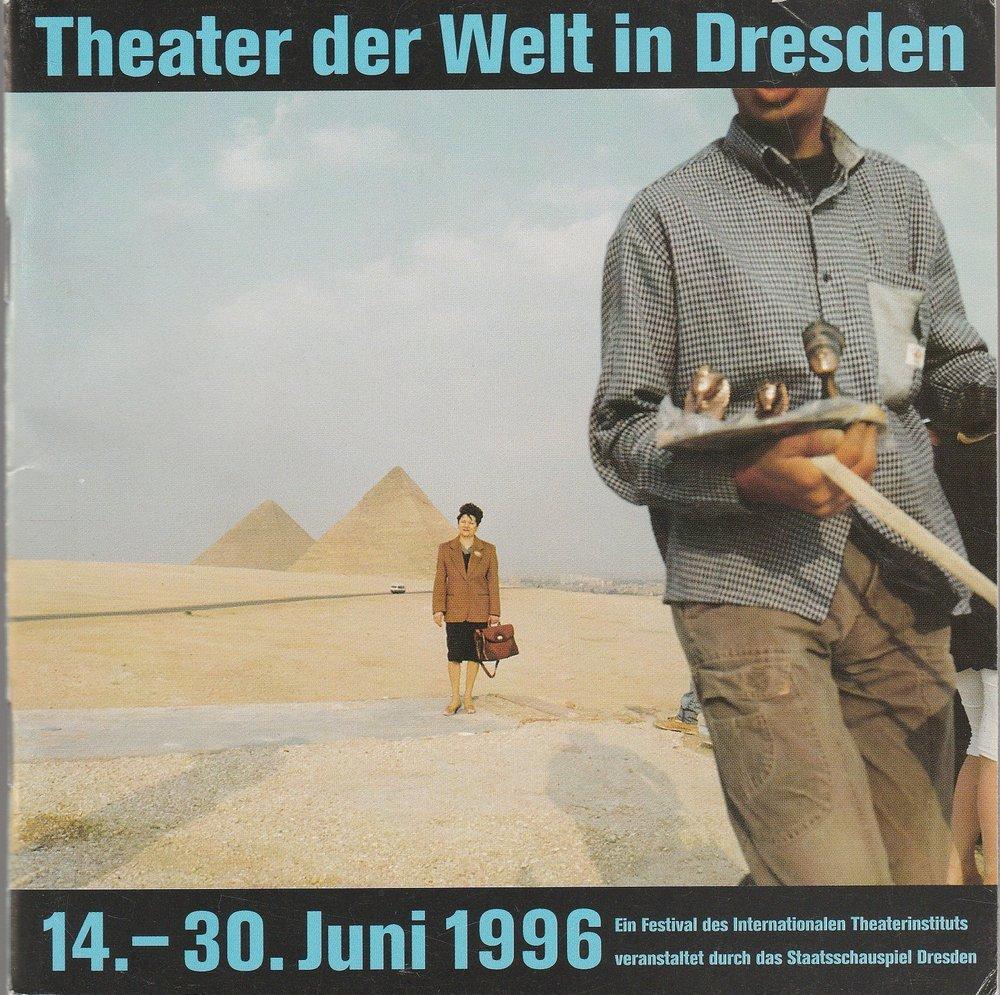 Programmheft Theater der Welt in Dresden 14.-30.: Theater der Welt,