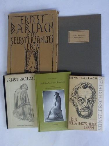 5 verschiedene Bänden: Barlach, Ernst