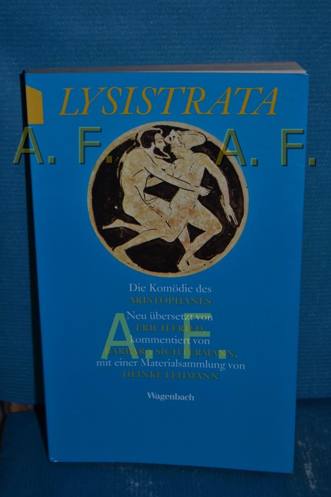 Lysistrata : die Komödie des Aristophanes neu: Sichtermann, Barbara (Mitwirkender),