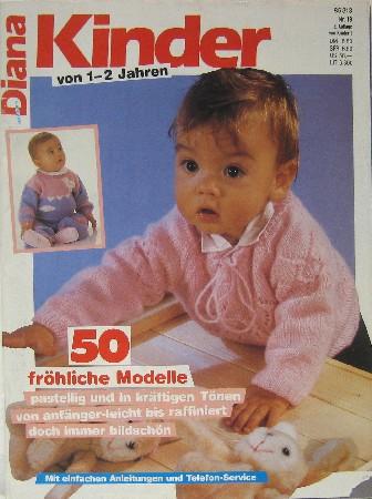 Handarbeiten Diana Kinder von 1-2 Jahren. 50: Exner, Eva und