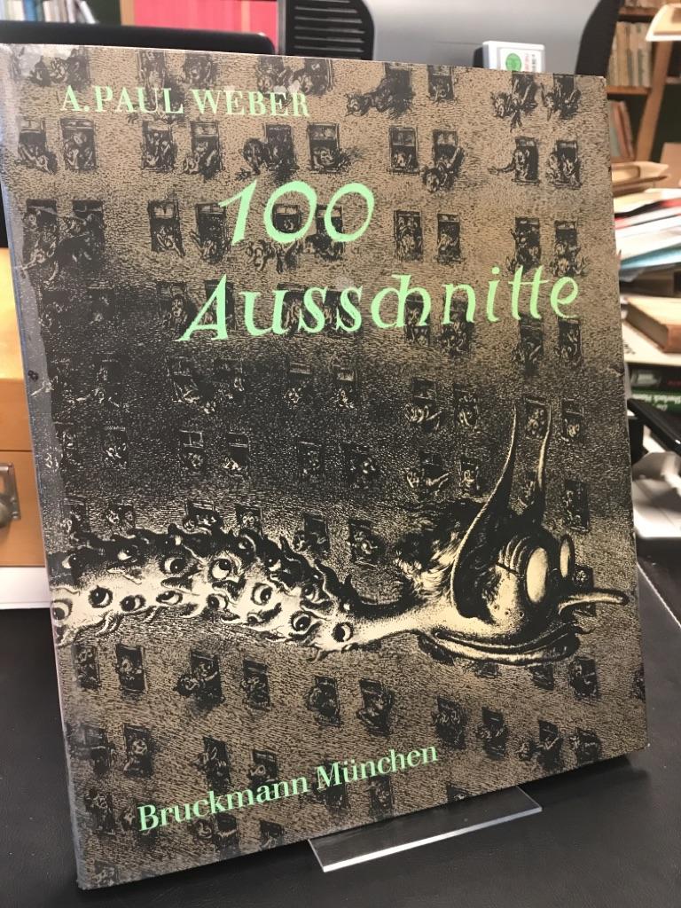 100 Ausschnitte aus Handzeichnungen und Lithographien. Einführung: Weber, Andreas Paul: