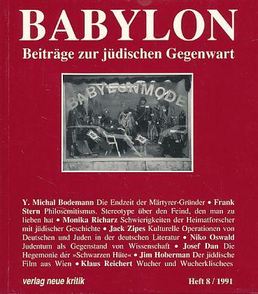 Babylon. Beiträge zur jüdischen Gegenwart. Heft 8,: Brumlik, Micha, Dan