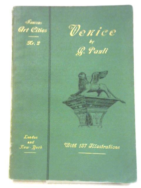 Venice: Famous Art Cities, No. 2: Gustav Pauli