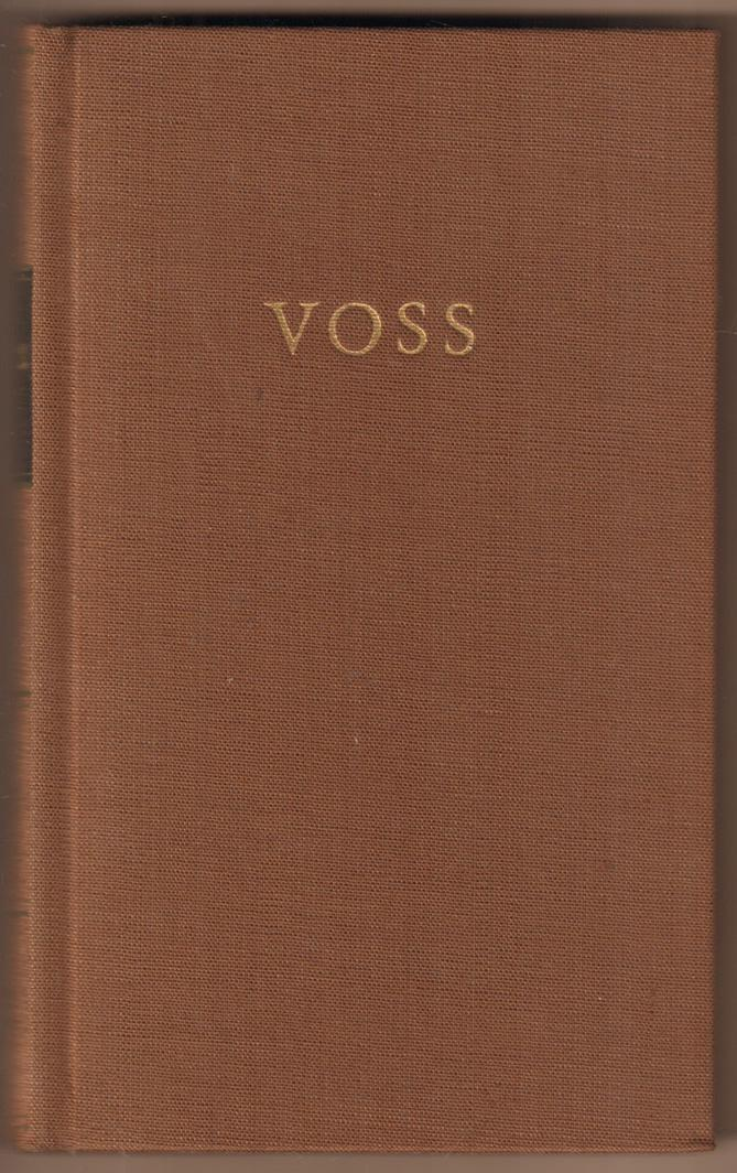 Werke in einem Band. Ausgewählt und eingeleitet: Voss, Johann Heinrich: