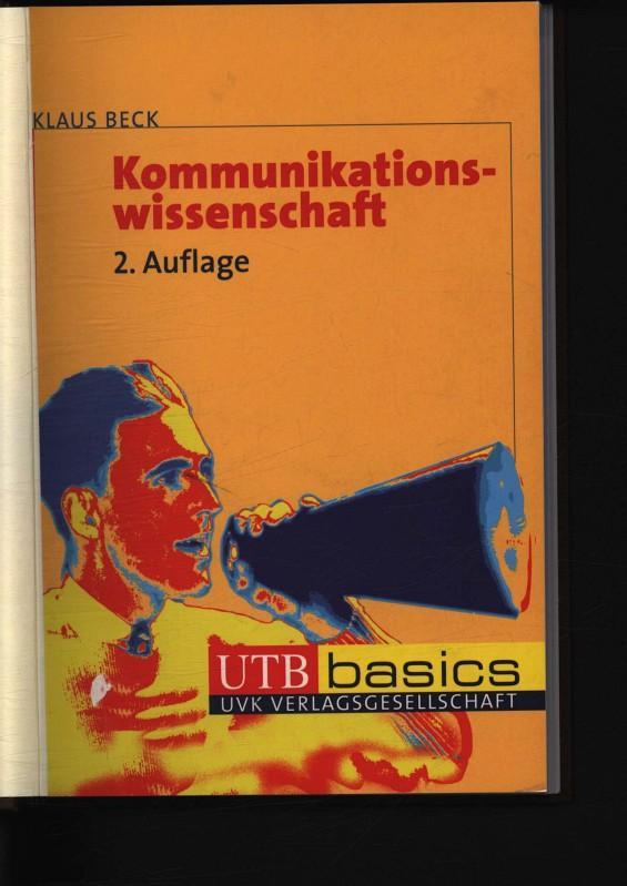 Kommunikationswissenschaft 2964 - Beck, Klaus