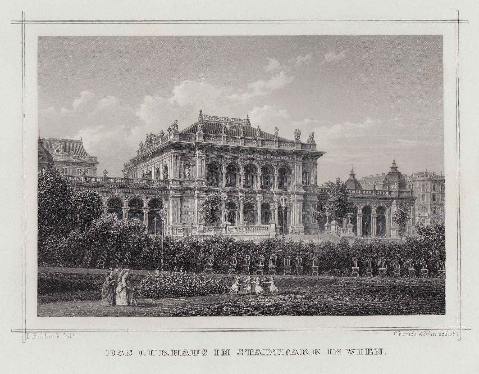 TA., Kurhaus im Stadtpark.: Wien ( Vienna