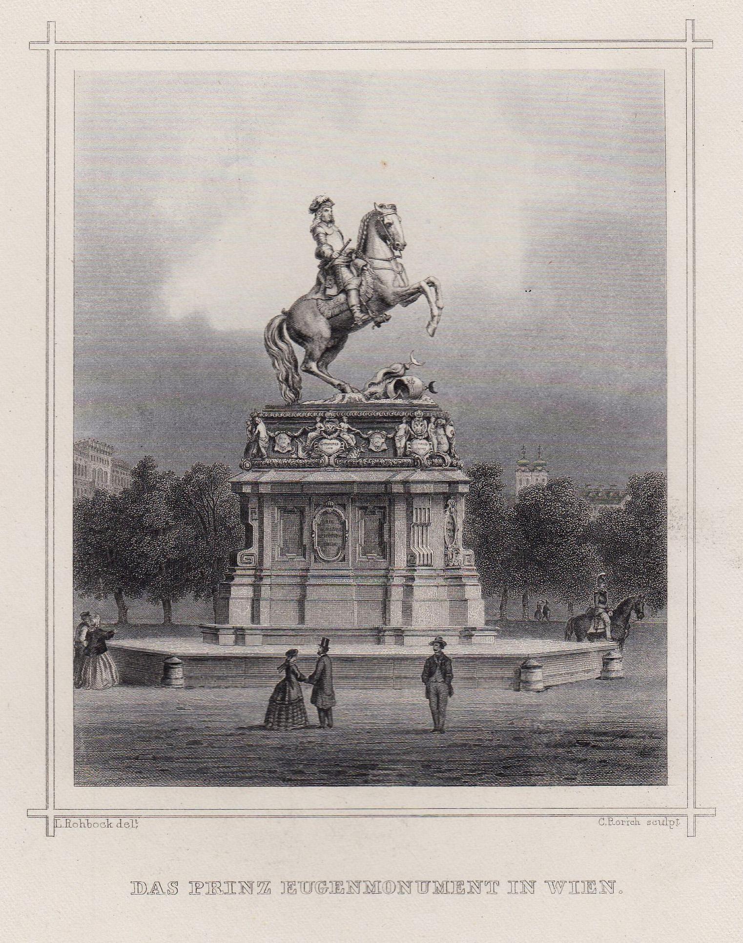 TA., Denkmal, des Prinzen Eugen.: Wien ( Vienna
