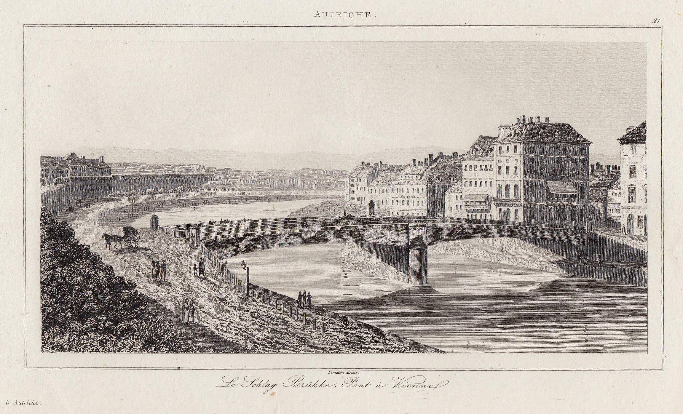 TA., Schwedenbrücke, m. d. Franz Josef Kai,: Wien ( Vienna