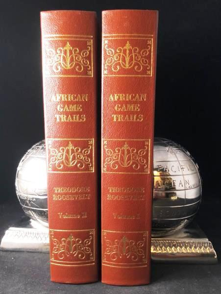AFRICAN GAME TRAILS. AN ACCOUNT OF THE: ROOSEVELT, Theodore (Teddy)