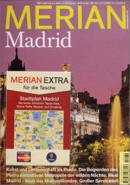 Merian: Madrid: Autorenangabe, ohne: