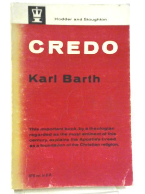 Credo: Karl Barth