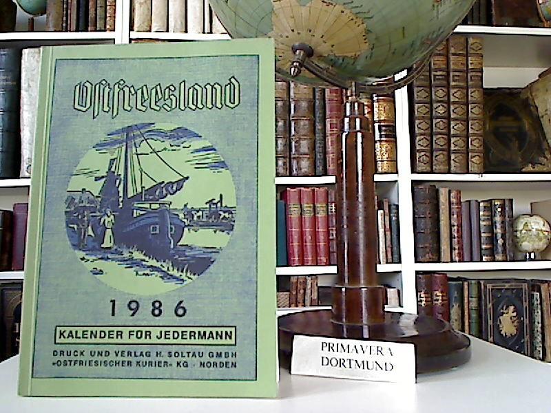 Ostfreesland. Kalender für Jedermann. 1986.: Ostfriesland: