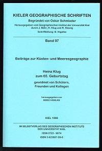 Beiträge zur Küsten- und Meeresgeographie: Heinz Klug: Higelke, Bodo (Hg.):