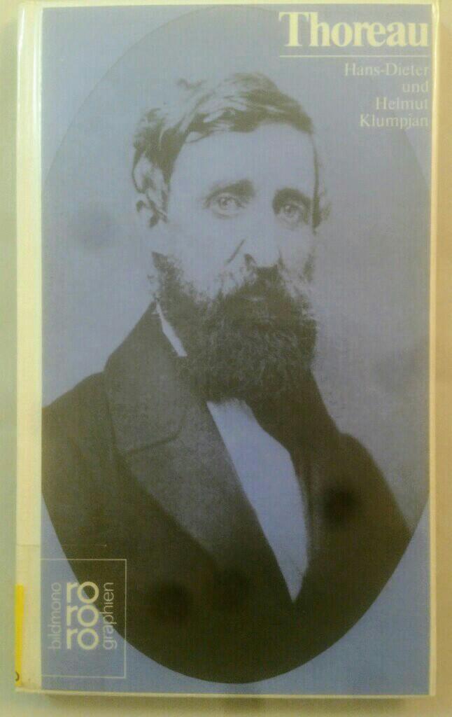 Henry D. Thoreau. Monographie. - Klumpjan, Hans-Dieter